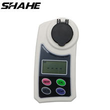 Shahe Digital Refractometer 0-55% Brix LCD Display Use For Measure The Sugar Content In Water Samples, Food, Fruits, And Crops