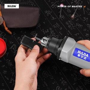 Image 5 - Hilda 400W Mini Elektrische Boor Grinder Variabele Snelheid Dremel Stijl Rotary Tool Mini Boor Met Flexibele As En Accessoires