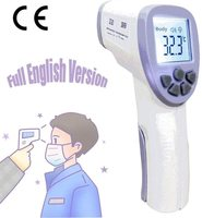 Ready Stock Digital Infrared Thermometer Non contact IR Body Temperature Gun For Baby Adult