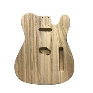 Пустая шлифовальная электрогитара ручной работы, бас-гитара, деревянный корпус, бочка для электрогитары в стиле «сделай сам»