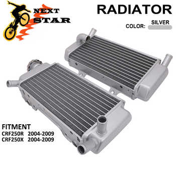 2 pcs Motorcycle Aluminum Radiator Water Tank Cooling Cooler For Honda CRF CRF250R CRF250X 250R 250 R 250X 250 X 2004 2005-2009 - DISCOUNT ITEM  14 OFF Automobiles & Motorcycles