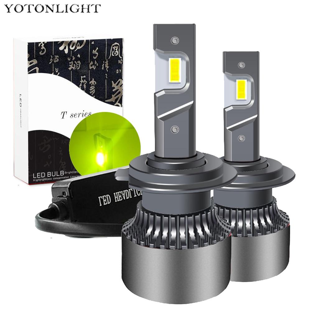 Hb3 Hb4 H7 H4 H11 H1 светодиодная лампа H3 9005 9006 Лампа Автомобильный светодиодный головной светильник 9004 9007 H13 9012 Hir2 H8 противотуманный светильник 55 Вт...