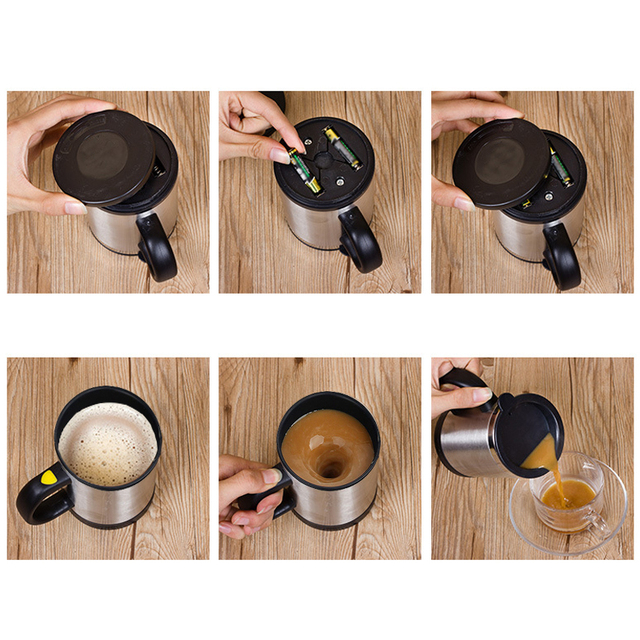 Automatic Coffee Mixing Cup 2
