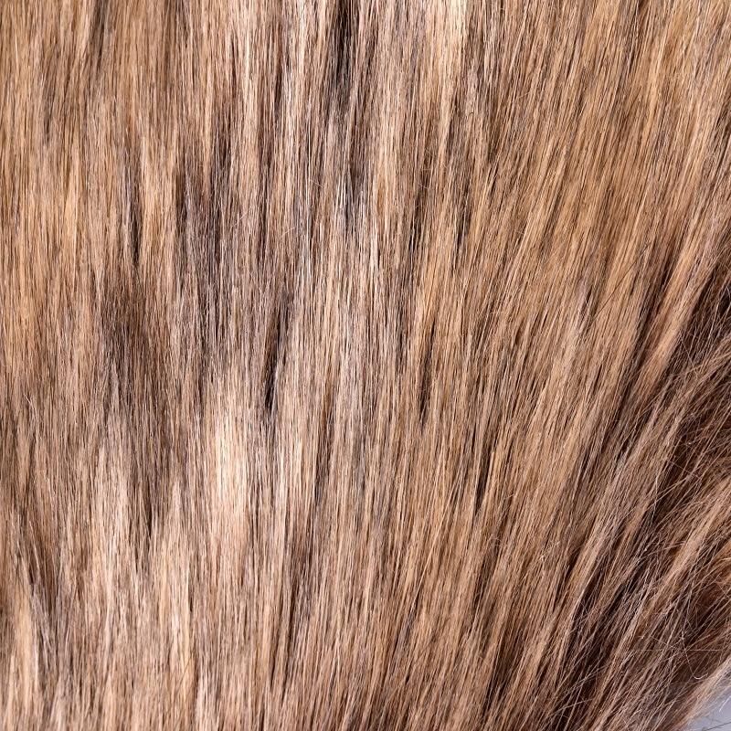Café profond trois couleurs cheveux trois couleurs tresse cheveux tissu artificiel largeur 160CM tissu - 3