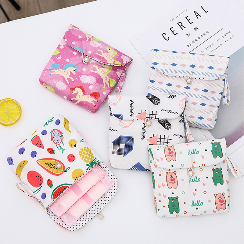 Women Mini Cartoon Unicorn Makeup Case Travel Make Up Bath Organizer Storage Cosmetic Bag Toiletry Zipper Wash Beauty Pouch Box