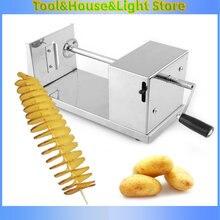 Спиральный резак для картофеля измельчитель ручной витой слайсер
