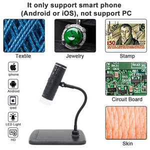 Image 5 - Mikroskop cyfrowy 1000X HD 1080P LED USB WiFi mikroskop mikroskop na telefon komórkowy aparat do Smartphone PCB inspekcja narzędzia