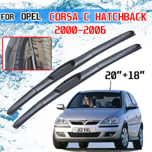 Image 1 - Opel Corsa C Hatchback 2000 2001 2002 2003 2004 2005 2006 액세서리 자동차 앞 유리 윈드 쉴드 와이퍼 블레이드 U J 후크