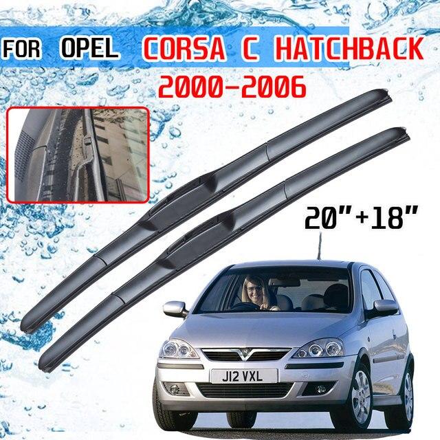 Opel Corsa C Hatchback 2000 2001 2002 2003 2004 2005 2006 액세서리 자동차 앞 유리 윈드 쉴드 와이퍼 블레이드 U J 후크