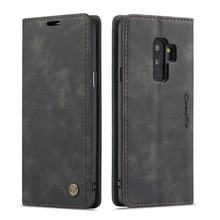 Ultra-Thin Business Wallet Mobile Phone Case Fashionable Mobile Phone Wallet Holster For Samsung Galaxy S9(China)