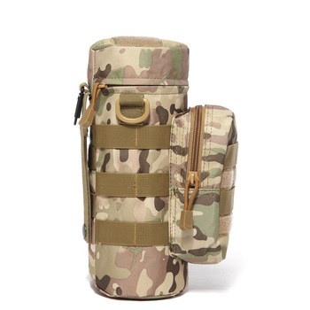 Military Kettle Bag for Molle Tactical Backpack Army Water Bottle Bag Pouch Outdoor Hunting Hiking Waist Kettle Pouch Waist Bag 3