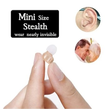 Mini Size Ear Hearing Aid Sound Amplifier Micro Wireless Hearing Aids For Elderly Best Invisible Hearing Device For Right/Left
