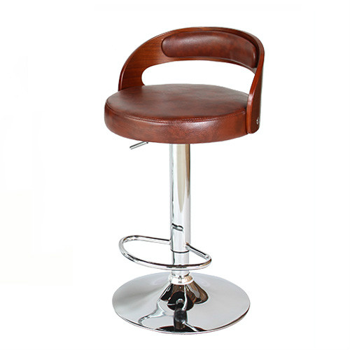 Bar Chair Nordic Bar Chair Rotating Lift Chair Solid Wood Back Bar Stool Cash Register Front Desk High Stool