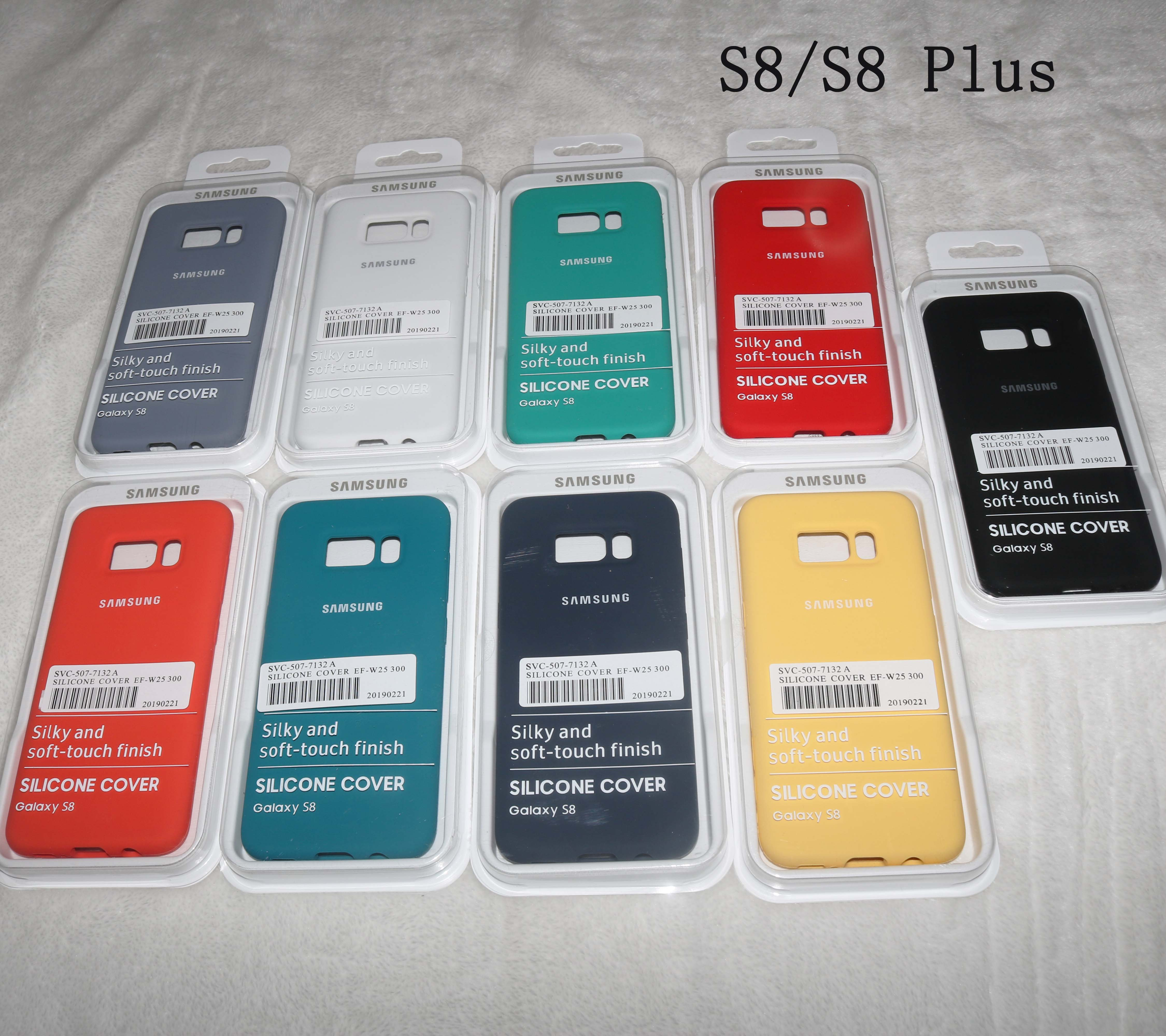 coque samsung silicone cover s8