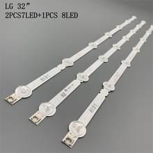 630 milímetros A1 A2 Retroiluminação LED Tiras para LG 32