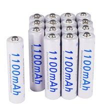 2 24 шт aaa аккумуляторная батарея 12 в aa 3a 1100 мАч ni mh