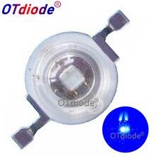 100pcs LED לגדול אור 3W לגדול נוריות רויאל כחול 440nm + כחול 470nm מנורת מקור DIY 10W 20W 30W 50W 100W הנורה 3W אור חרוזים