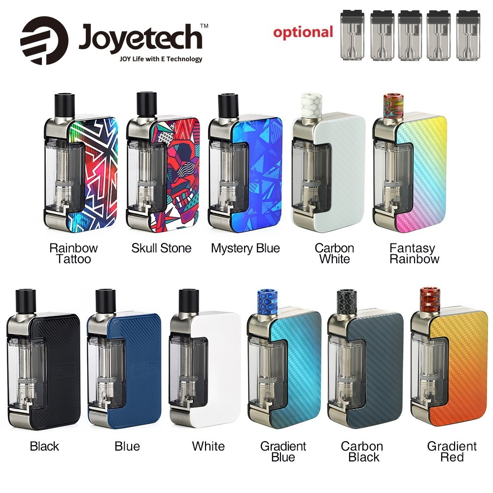 Original Joyetech Exceed Grip Pod Vape Kit 1000mAh E-cig Vape Kit With 4.5ml Cartridge 20W Max Output Vs Pal 2 / Drag Nano