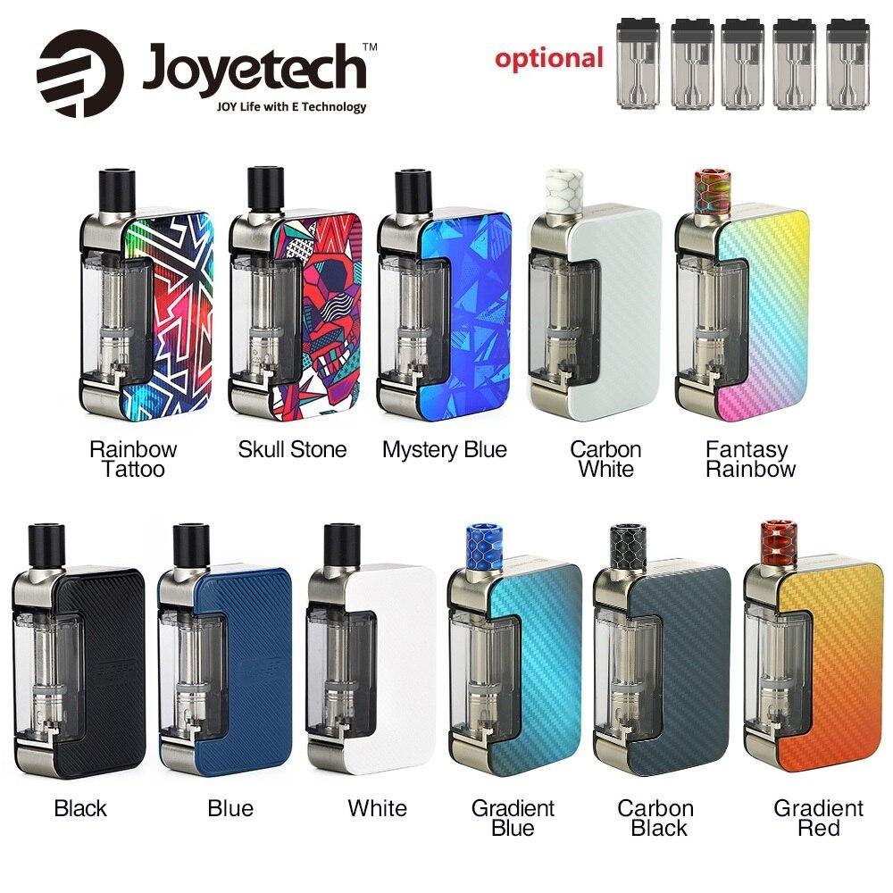 Original Joyetech Exceed Grip Pod Vape Kit 1000mAh E-cig Vape Kit With 4.5ml Cartridge 20W Max Output Vs Pal 2 / Drag Nano