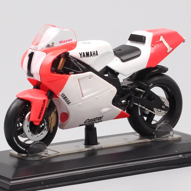 1/22 Scale Italeri Yamaha YZR OWEO 500 World Champion 1992 W.Rainey No#1 Racing Motorcycle Diecasts & Toy Vehicles Model GP Bike