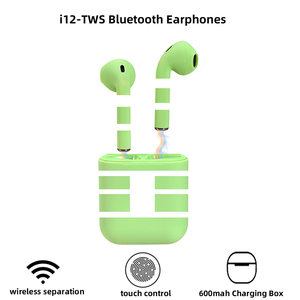 ROCKSTICK inpods 12 headphone Earphone Bluetooth 5.0 Wireless Headsets sport earbuds With charging BOX for All Smart Phone