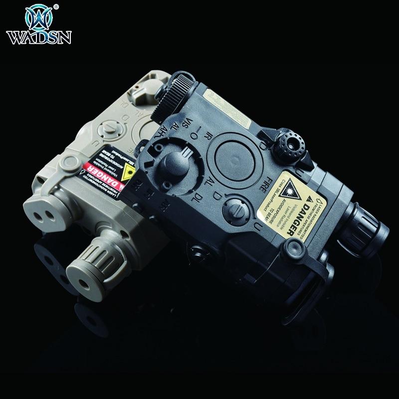 WADSN страйкбол тактический основной AN/PEQ-15 зеленый ИК лазер и белый светильник батарейный блок игрушка подсветка для оружия светильник оружи...