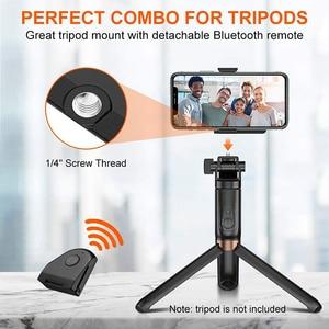 Image 5 - Беспроводной Bluetooth стабилизатор для смартфона Ulanzi CapGrip, ручка для селфи, стабилизатор для телефона, держатель, спуск затвора, винт 1/4