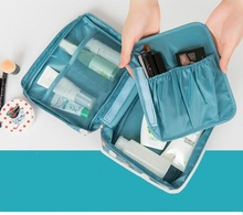 Water Resistant Foldable Travel Bag Storage Pouch double deck water resistant cube carrying bag pouch black