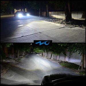 Image 2 - ナオH7 led H4 H11 HB4 9006 9005 HB3 H1 H8車ヘッドライト電球cob smd 6000 18kホワイト30ワット12v H3 H13 9007 9004自動車の付属品