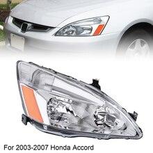 цена на Car Headlights Durable Right Side Headlight 33151SDAA01 33101SDAA01 HO2502120 HO2503120 fit for Honda 2003-2007 Accord