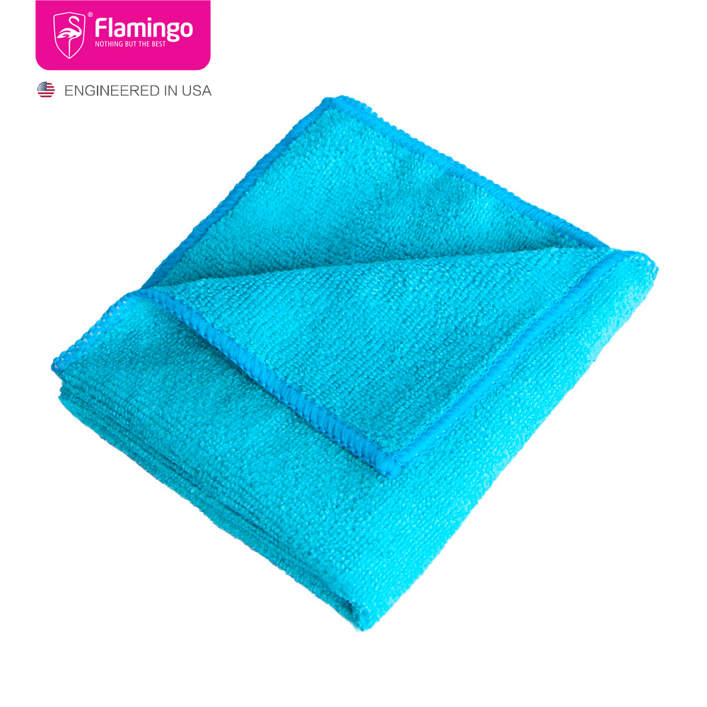 5pcs of Microfiber Q Drying Buffing Detailing Cleaning Towel from Atop Korea