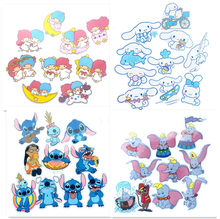 stickers stitch cartoon characters danganronpa Pompom Purin twin Stars waterproof grease vape cute stikers for kids 100 pack(China)