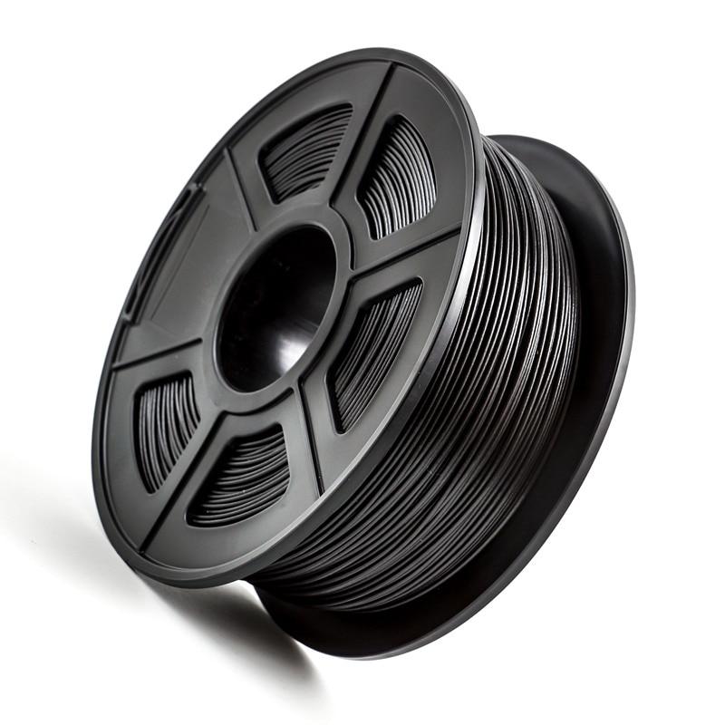 PETG PLA Carbon Fiber 1,75 мм 3D-принтеры Синтетическая нить 1кг/2.2lbs для FDM 3D-принтеры Высокопрочное соединение Материал