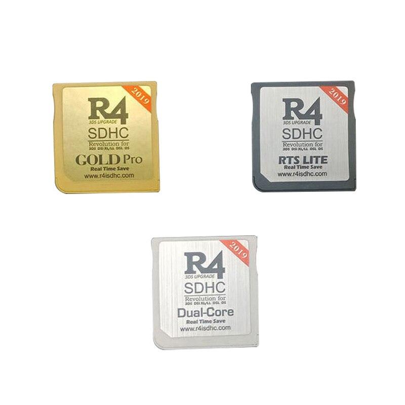 2019 جديد R4 SDHC USB محول مع 16G TF قارئ البطاقات SD الذهب برو/أبيض/فضي 3 ألوان ل نينتندو NDS/3DS/2DS/NDSL