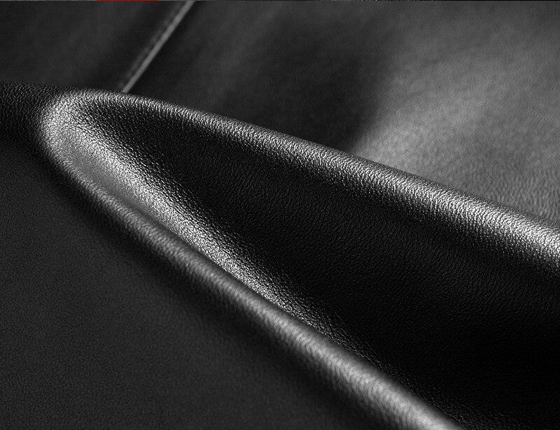 2020 Men's Sheepskin Coat Spring Autumn Genuine Leather Jacket Men Blazer Windbreaker Leather Jackets FSBAQ..1707 KJ2296
