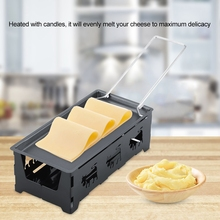 Portable Cheese Tray Home Baking Oven Microwave Oven Use Non-Stick Cheese Pan Dish Mini Solid Wood Handle Cheese Plate Durable camvate qr top cheese handle with 70mm nato rail