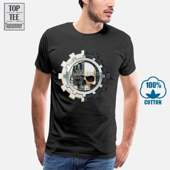 Adeptus Mechanicus T-Shirt For Women T Shirt Tops Tshirt Cotton Men T-Shirts Anime T-Shirt Oversized T Shirt Men Printed Tshirt image
