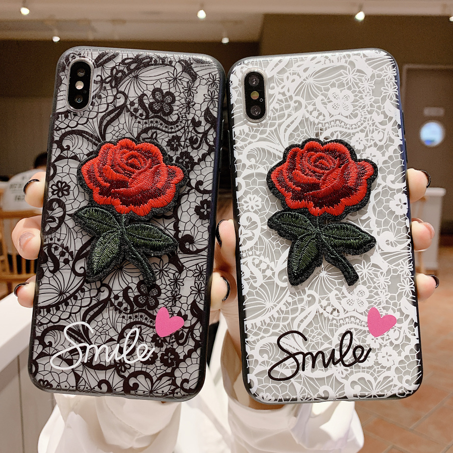 Emboss Case for Oppo A5 A3S A3 A7 A83 A79 A77 A71 A59 R7 R7S R9 R9S Plus R11 R11S Cover Hollow Lace Cases Strap