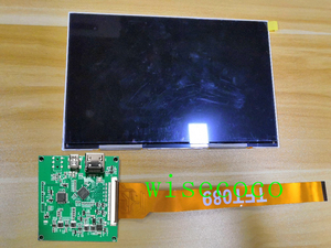 Image 1 - 8.9 inch 2560*1600 2k  IPS lcd display 16:10 screen with MIPI driver board Raspberry PI 3 DIY DLP 3d printer