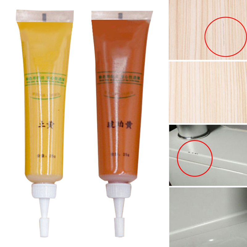 Newly Wood Furniture Touching Up Kit Marker Cream Wax Scratch Filler Remover Repair XSD88
