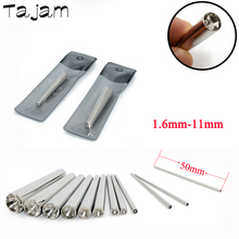 1PC  Professional Body Piercing Tool 316L Surgical Steel Concave Taper Insertion Pins Ear Expander Kit  Fashion Jewelry