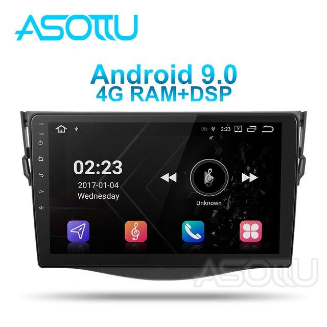Asottu TO601 android 9,0 PX6 DVD del coche para toyota rav4 2007, 2008, 2009, 2010, 2011 radio gps navigator