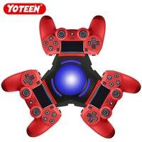 Yoteen Controller Ladegerät für PS4 Triple Usb Ladegerät für DualShock 4 Controller Lade Dock Station Staubdicht Led-anzeige