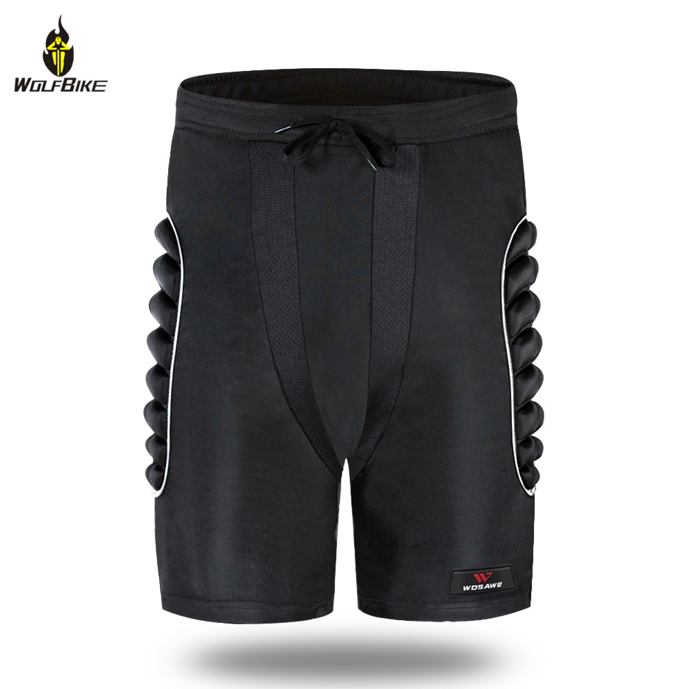 Wolfbike Snowboard Shorts Sports Skis Hip Protective Pad Motocross Off Road Bike Skiing Hockey Butt Support Body Protection