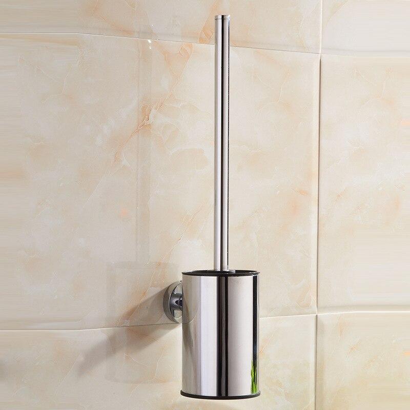 Vidric Lyell Copper Plated Stainless Steel Bathroom Toilet Brush Creative Personality Metal Pendant Bathroom Hotel