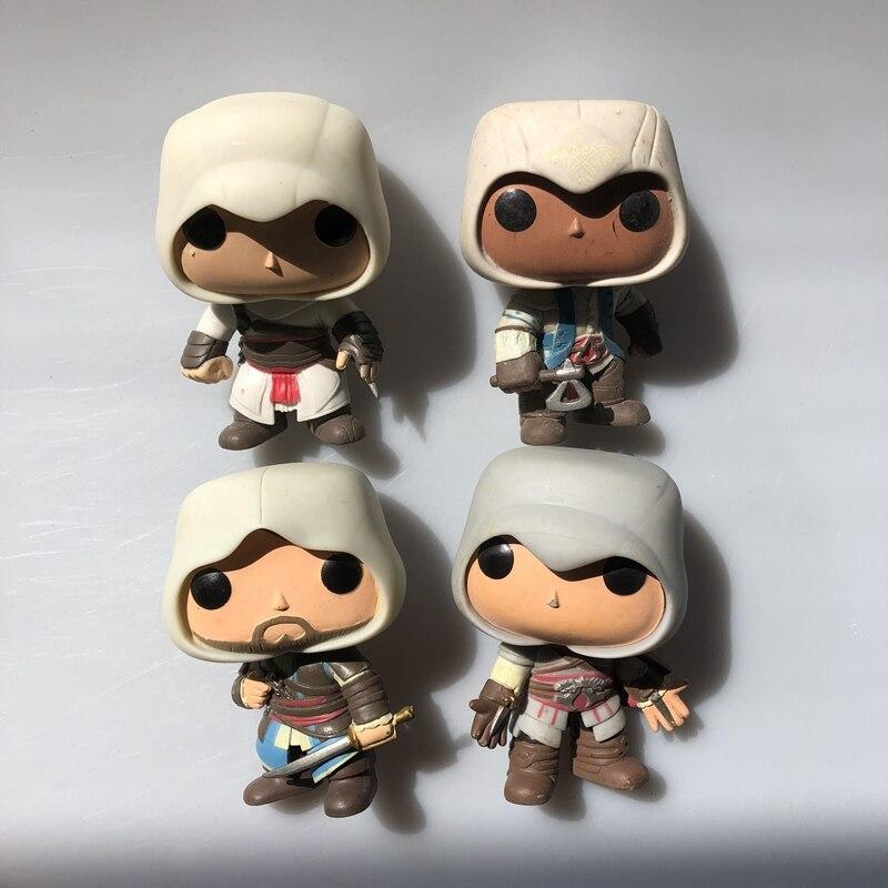 Original Funko Pop Secondhand Games: Assassin Altair, Edward, Ezio, Connor Vinyl Action Figure Collectible Model Loose Toy