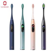 Oclean X Pro – brosse à dents électrique sonique IPX7 pour adulte, brosse à dents ultrasonique à charge rapide automatique avec écran tactile