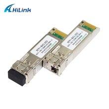 משלוח חינם 4 זוגות יחיד סיבי 10G BIDI SFP 20Km WDM SFP + 1270/1330nm LC/UPC Gbic