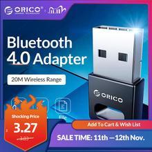 ORICO 무선 USB 블루투스 어댑터 4.0 블루투스 동글 오디오 수신기 어댑터 블루투스 송신기 컴퓨터 PC 스피커
