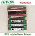 2 шт./6 шт. 100% Оригинал Hiwin HGH20CA линейная узкая каретка блочные подшипники 20 мм для HGR20 линейная направляющая фрезерный станок с ЧПУ